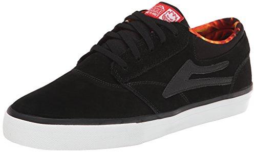 Lakai Griffin, Herren Skateboardschuhe Schwarz (Noir (Black Suede Spitfire))