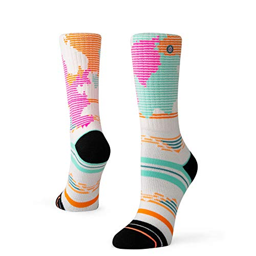 Stance Womens Adventure Rhosite Outdoor Socks W586A19PHO Pink (Pink, Medium)