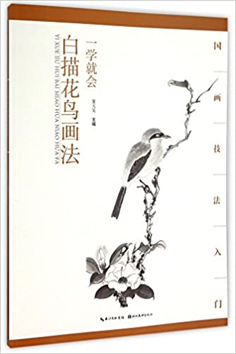 Easy Learninghow To Line Draw Flowers And Birds Chinese Edition