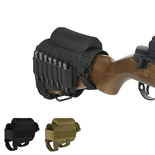 Tactical Buttstock Rifle Shell Holder