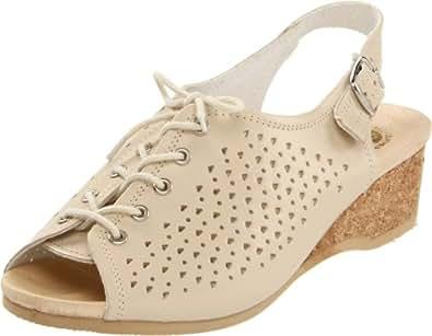 Worishofer Women's 583 Slingback Sandal,Opal,36 EU / 6 B(M) US