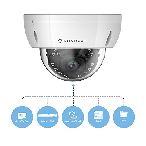 Amcrest UltraHD 4K (8MP) Outdoor Security POE IP Camera