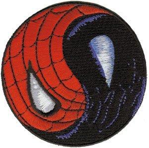 Spiderman Yin Yang Venom Spidey Embroidered Iron On movie Patch (Spider Man Diy Costume Women)