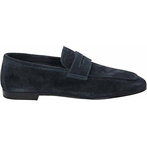 FRAU - Mocasines de ante para hombre Azul turquesa 43 Azul Size: 43: Amazon.es: Zapatos y complementos