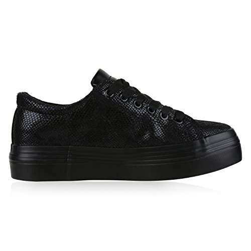 napoli-fashion - zapatos de tacón Mujer Schwarz Total