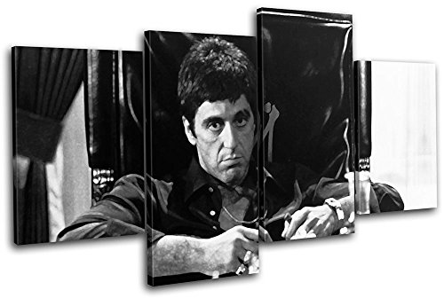 Bold Bloc Design - Scarface Al Pacino Movie Greats 120x68cm