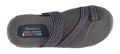 Skechers Kvinnor, Reggae Sarasota Glid Sandaler Marinblå