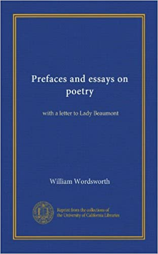 Persuasive Essay Examples High School Prefaces And Essays On Poetry With A Letter To Lady Beaumont William  Wordsworth Amazoncom Books Examples Of A Thesis Statement For A Narrative Essay also Health Essay Prefaces And Essays On Poetry With A Letter To Lady Beaumont  Healthy Eating Essay