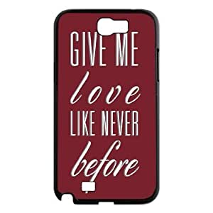 Give me love High Qulity Customized Cell Phone For Case Samsung Note 4 Cover , Give me love For Case Samsung Note 4 Cover Case