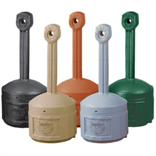 Cease Fire Cigarette Butt Receptacles Waste Disposal Collectors Terra Cotta Cigarette Collector