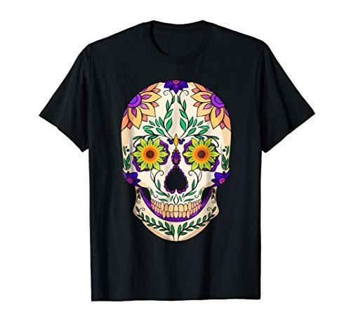 Sugar Skull Costume Halloween Sunflower