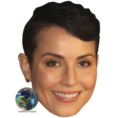 Noomi Rapace Celebrity Mask, Card Face and Fancy Dress Mask