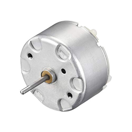 - uxcell Motor DC 6V 9400-9900RPM High Speed Motor for DIY Toy Cars Remote Control