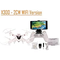 Flymemo X300 - 2CW 6 Axis Gyro 2.4GHz 4CH RC Quadcopter 0.3MP Camera WIFI Version