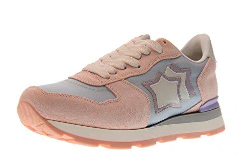 Atlantische Sterren Schoenen Vrouwen Lage Sneakers Vega At-29gl Celeste Hemelse