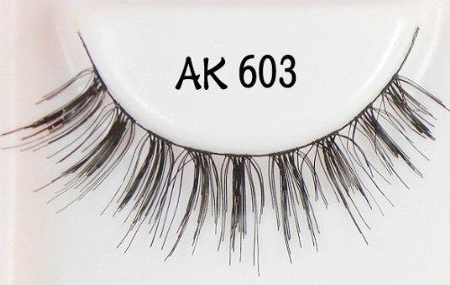 HOT in Japan 5 Pair Models Prefer Handmade False Eyelashes AK-603 by H-M - Shop 603