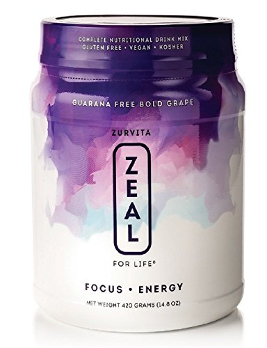 Zeal for Life- Wellness Formula- Bold Grape- Guarana Free