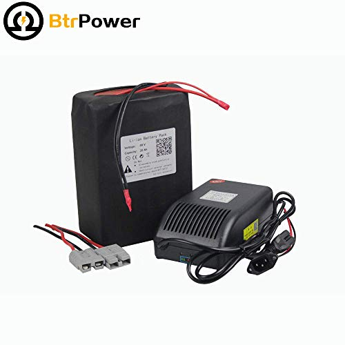 48V-20AH LIFEPO4 BATTERY PACK POWER FOR EBIKE NEW CELL WITH A - Battery 48v