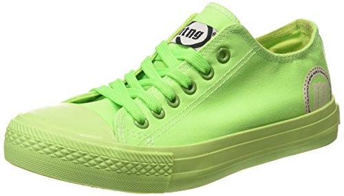 Chaussures De Sport D'attitude Mtng - Toile Fluor Sneakers Verde