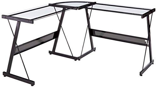 Z-Line Designs Solano L Desk, Black