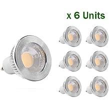 GOOLSUN 5-watt GU10 Cool White Bulb