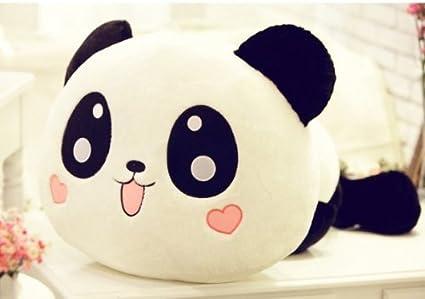 Kawaii peluche juguete Animal China Panda almohada de peluche Bolster regalo 25 cm/10inch