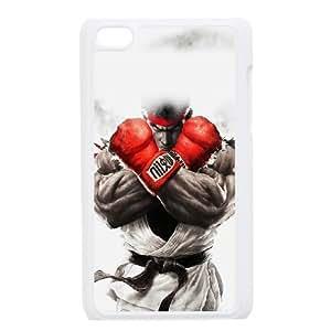 Cute TPU Case street fighter ryu iPod Touch 4 Case White