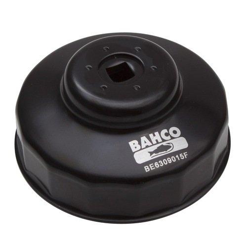 Bahco - Be6309015f - tazza del filtro chiave di 90 mm a 15 facce