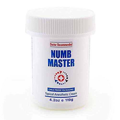 Clinical Resolution Non-oily Numb Master Topical Anesthetic Cream, 4 oz.