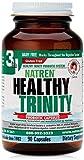 Natren Healthy Trinity Dairy-Free, Gluten-Free Probiotic to Improve Digestive Health, 90 Capsules