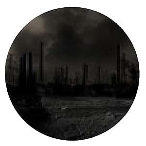 alfombrilla de ratón escenario de guerra apocalíptica - ronda - 20cm