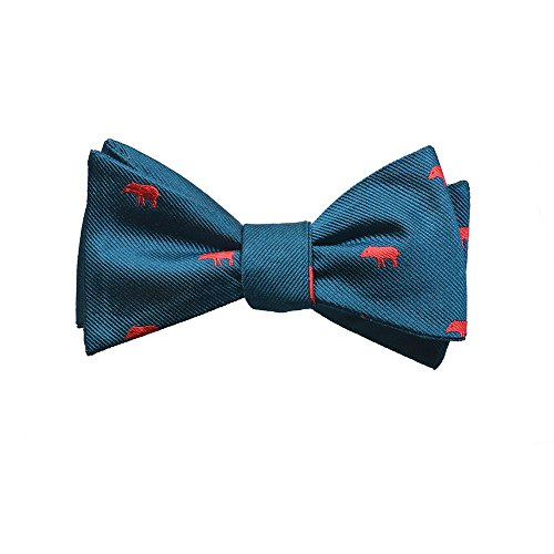 SummerTies Woven Silk Bow Tie
