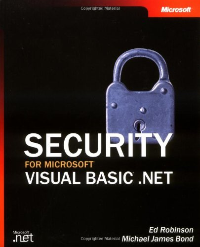 Security for Microsoft  Visual Basic  .NET (Developer Reference)