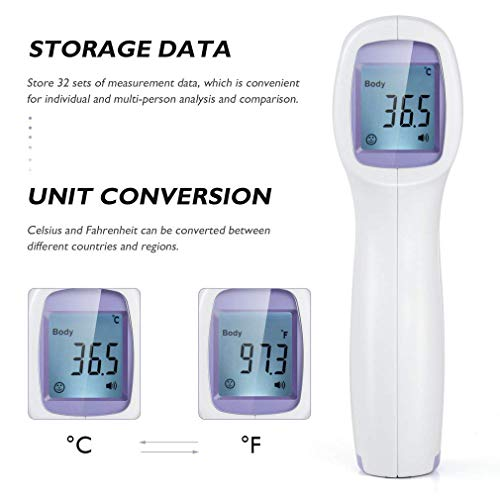 Non-Contact Digital Thermometer US in Stock for Adults 2020 Upgraded Medical Using Company Office