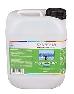 'Syna Qua aquaactiv Extra algas parada Extra algas Ver portero algenex líquido 5ltr. höchstkonzentriert