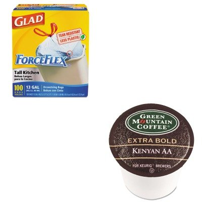 kitcox70427gmt4057-value-kit-green-mountain-coffee-roasters-kenyan-aa-coffee-k-cups-gmt4057-and-glad