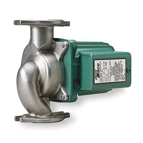 (Taco 009-F5 Cast Iron High Velocity Cartridge Circulator Pump)
