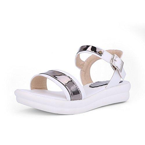 SLC03936 Ouvert AdeeSu 5 Blanc 36 EU Bout Blanc Femme rdrwEZ