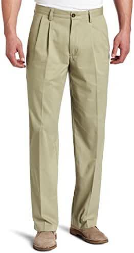 Dockers Men's Easy Khaki D3 Classic-Fit Pleated Pant