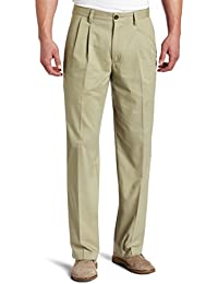 Men's Easy Khaki D3 Classic-Fit Pleated Pant