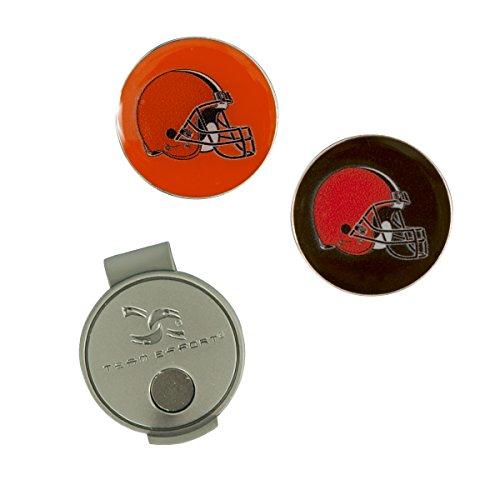 Team Effort NFL Cleveland Browns Hat Clip & 2 Ball Markers
