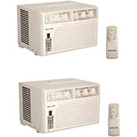 Cool Living 8,000 BTU Window Mount Air Conditioner (2 Pack)