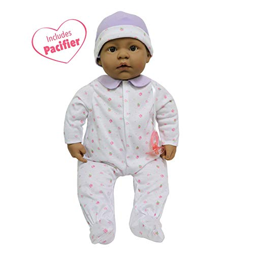 JC Toys, La Baby Hispanic 20-inch Soft Body in Purple Play Doll - For Children 2 Years Or Older, Designed by ()