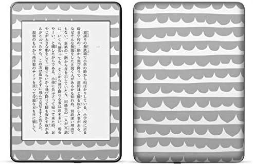 igsticker kindle paperwhite 第4世代 専用スキンシール キンドル ペーパーホワイト タブレット 電子書籍 裏表2枚セット カバー 保護 フィルム ステッカー 015920 模様 北欧 手描き