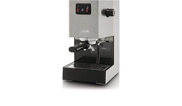 Gaggia Classic - Cafetera de espresso manual, 1300 W, color ...