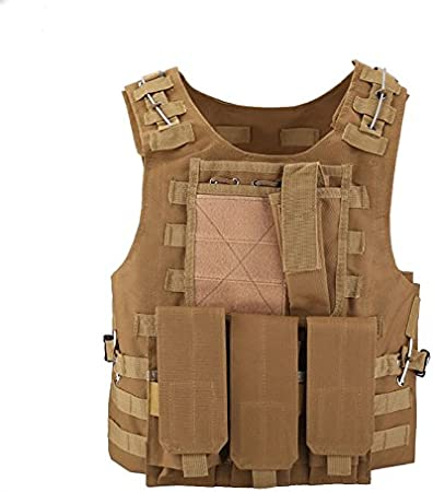 Tactical Military Weste Paintball Airsoft Kampf Angriff Weste Einstellbar Vest