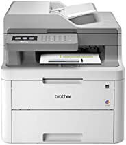 Brother MFC-L3710CW Compact Digital Color All-in-One Printer Providing Laser Printer Quality Results with Wireless, Amazon D