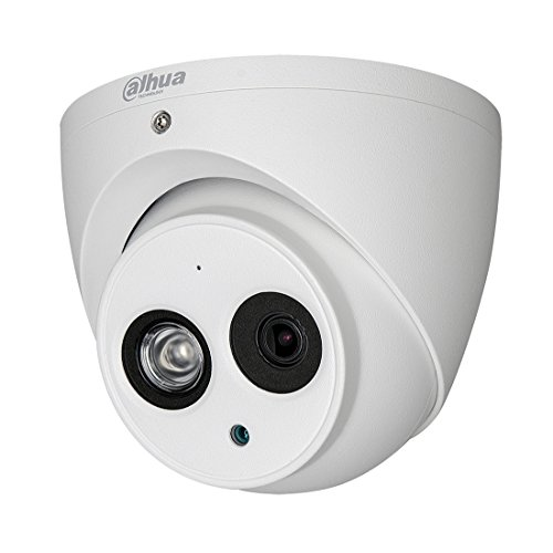 Dahua IPC-HDW4631C-A 6MP Dome PoE IP Security Camera 3.6mm Lens 6 Megapixels Super HD 3072×2048 Outdoor Indoor Home Video Surveillance Poe Camera with Audio,IR 30m Day and Night,ONVIF,IP67 Waterproof