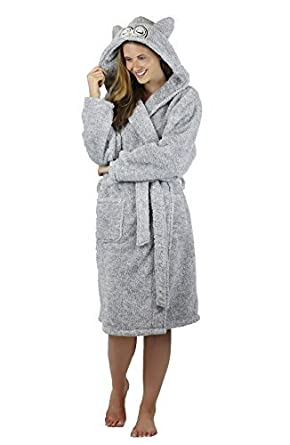 a258b98b8e STYLE MIXX FOREVER DREAMING Ladies Womens Novelty Animal Gown Robe ...