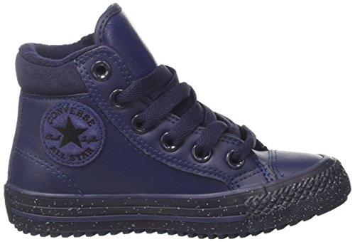 Converse Unisex-Kinder CTAS Hi PC Leather Hohe Sneaker Blau(Navy)